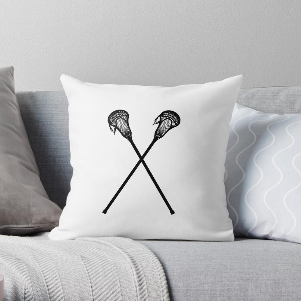 Lacrosse-Stöcke Dekokissen