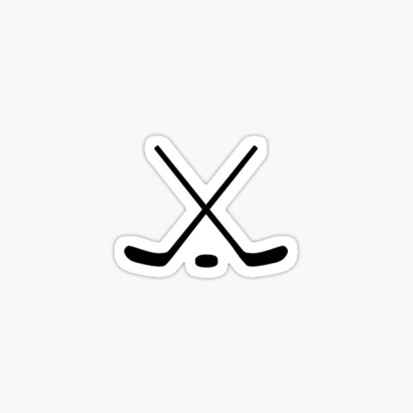 Hockey Sticks Sticker
