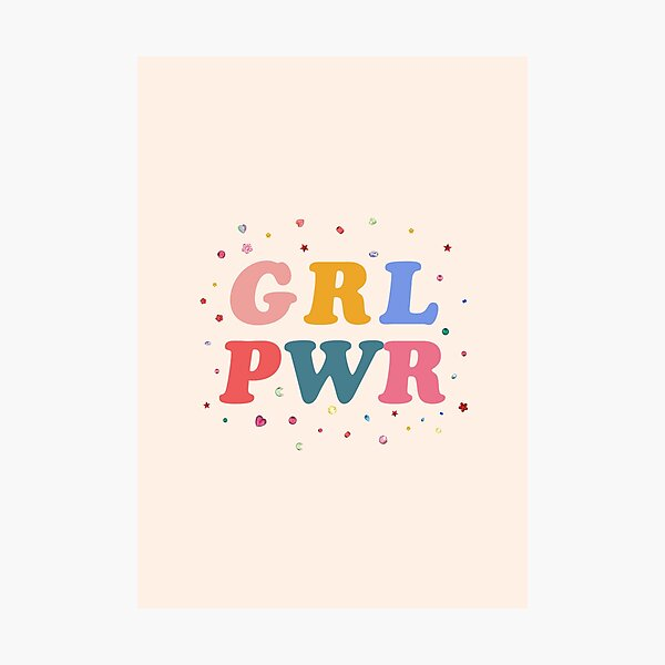 girl power Photographic Print
