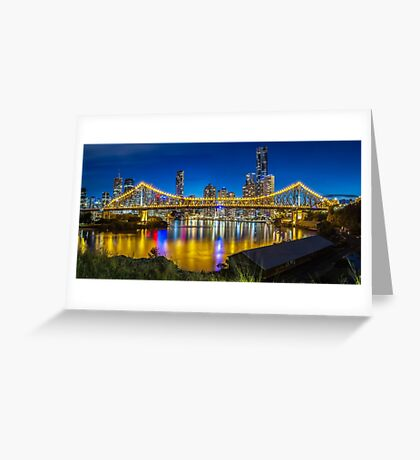 Story Bridge- Brisbane Queensland Greeting Card