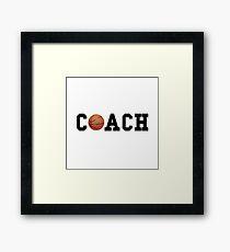Basketball Coach Framed Print
