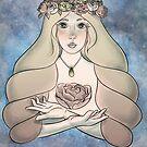 The Maiden of Goats by ardenrachelart