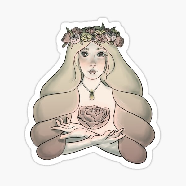 The Maiden of Goats Sticker