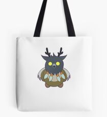 Worgen Boomkin With Purple Lines Tote Bag