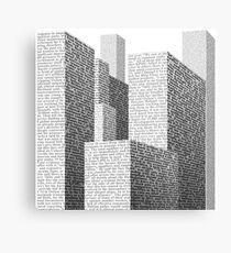 Media City Canvas Print
