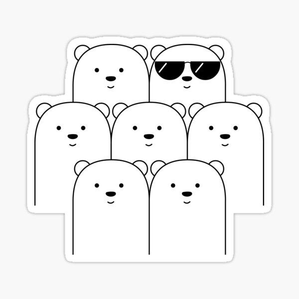 That Cool Polar Bear Sticker