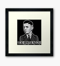 Horst Wessel - Die Fahne Hoch! Framed Print