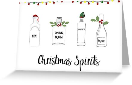Christmas Spirits by Laura-Lise Wong