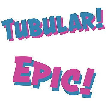 Epic! Tubular! Repeating Design by Accoughlan
