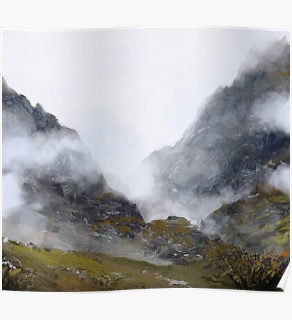 Nameless Mountains Poster