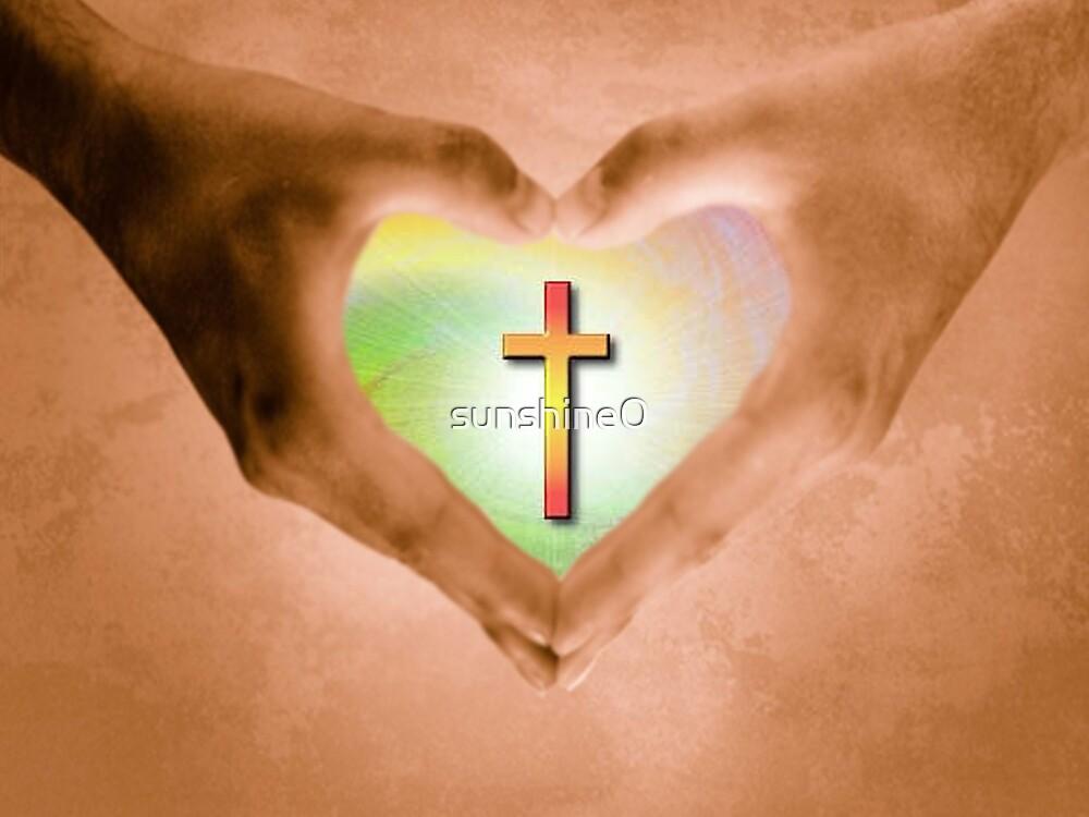 Quot Jesus Is Love Quot By Sunshine0 Redbubble
