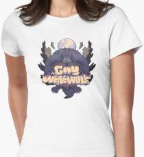 gay werewolf Women's Fitted T-Shirt