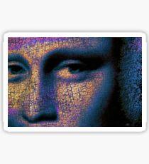 Mona Lisa Eyes 1 Sticker