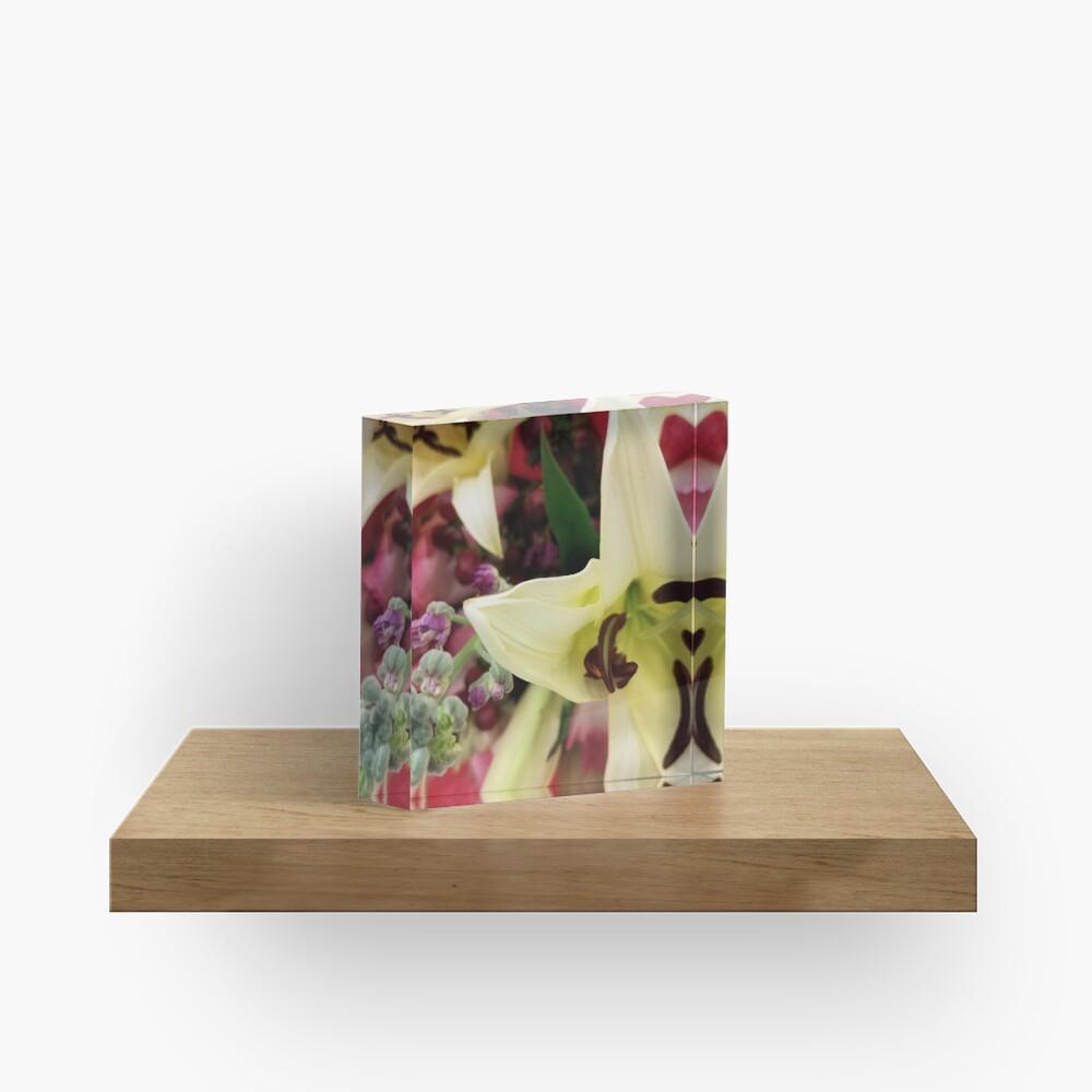 Floral Fun Acrylic Block