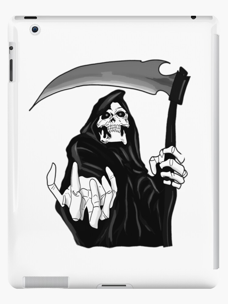 "The grim reaper hell design "" iPad Case & Skin by artyrepublic 
