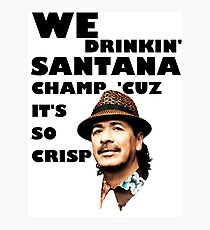 LONELY ISLAND - ON A BOAT - SANTANA CHAMP Photographic Print
