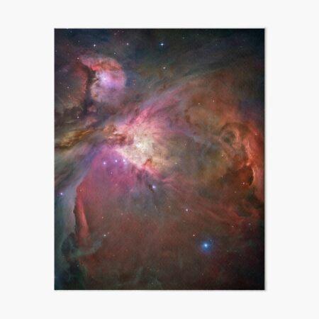 The Orion Nebula - Hubble Space Telescope Image Art Board Print