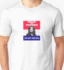 Battlestar Galactica: Roslin for President Unisex T-Shirt