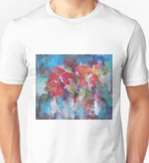 Flowers Painting - Bright Colours T-Shirt