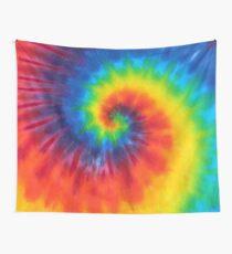 tie dye swirl rainbow Wall Tapestry