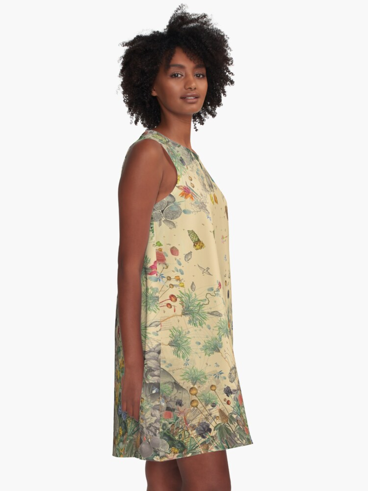 Alternate view of Garden Surround A-Line Dress