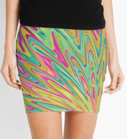 Abstract Newborn Star Mini Skirt