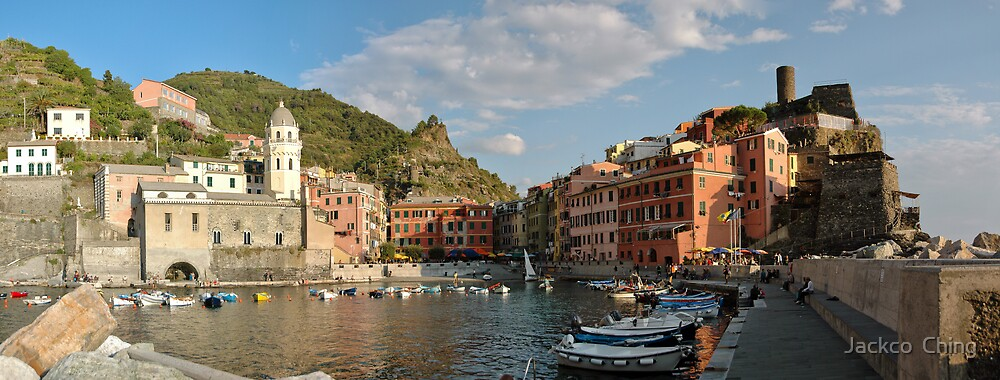 Vernazza - Italy by jackco ching