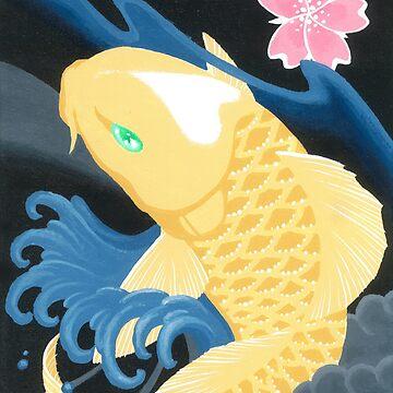 Love Koi Pastel Yellow by SadoStyle
