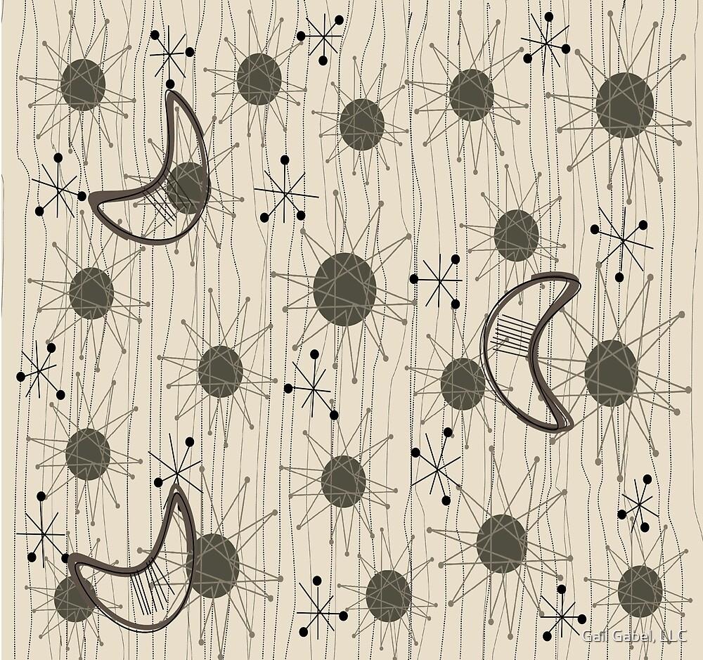 Starburst and Boomerangs by Gail Gabel, LLC
