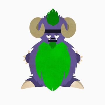 Meh The Monster: No Text by Thur