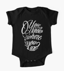 You know where you are? One Piece - Short Sleeve