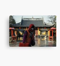 Faceless Faith in Shanghai Canvas Print