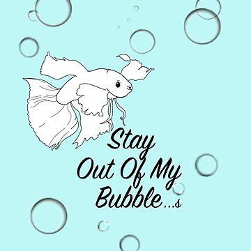 Betta bubble by LindasDesign