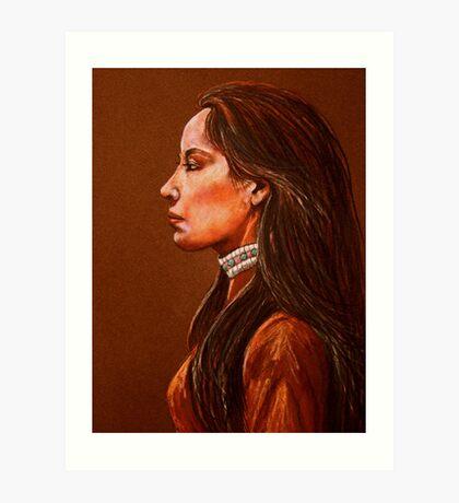 Raven Detail #2 Art Print