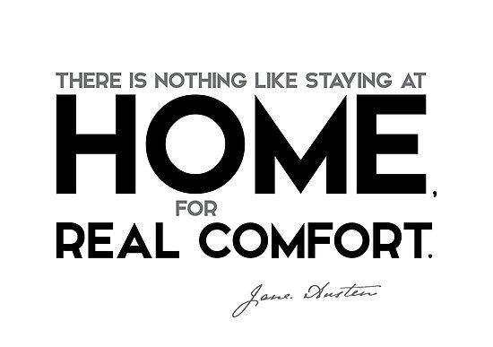 home, real comfort - jane austen by razvandrc