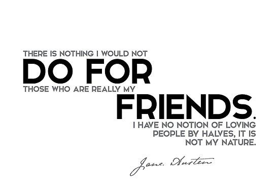 do for friends - jane austen by razvandrc