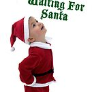 Waiting For Santa Christmas card by Dylan & Sarah Mazziotti