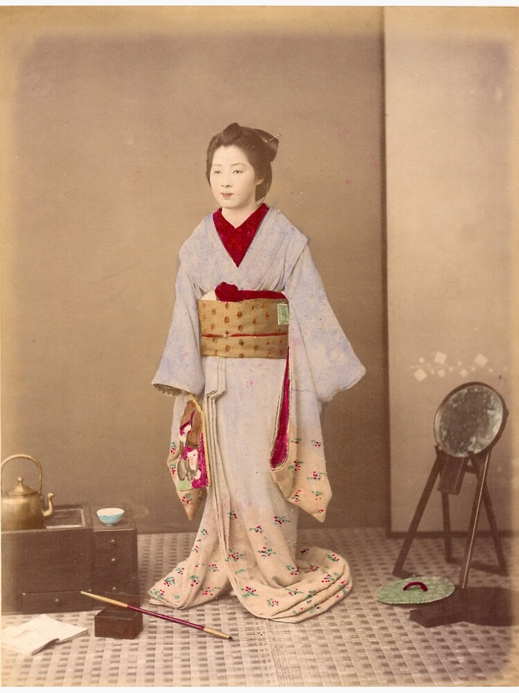Japanese girl in Kimono by Fletchsan