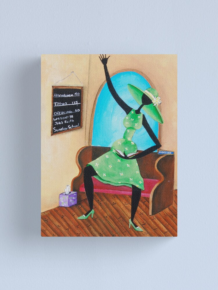 Alternate view of Bring That Word! Canvas Print