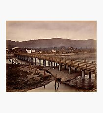 Samijio bridge, Kyoto, Japan Photographic Print