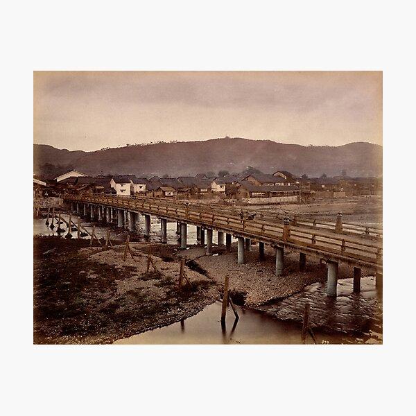 Samijio bridge, Kyoto, Japan Photographic Print