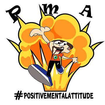 Positive Mental Attitude by cheekyghost