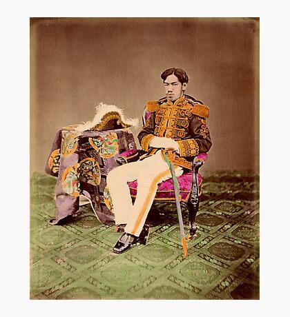 Meiji Emperor of Japan, Mutsuhito, 1872 Photographic Print