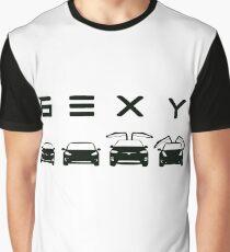 Camiseta gráfica Tesla sexy