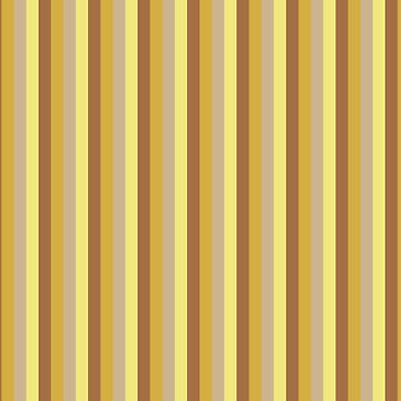 Stripes Limelight, Almond Buff, Ceylon Yellow, Meerkat by coverinlove