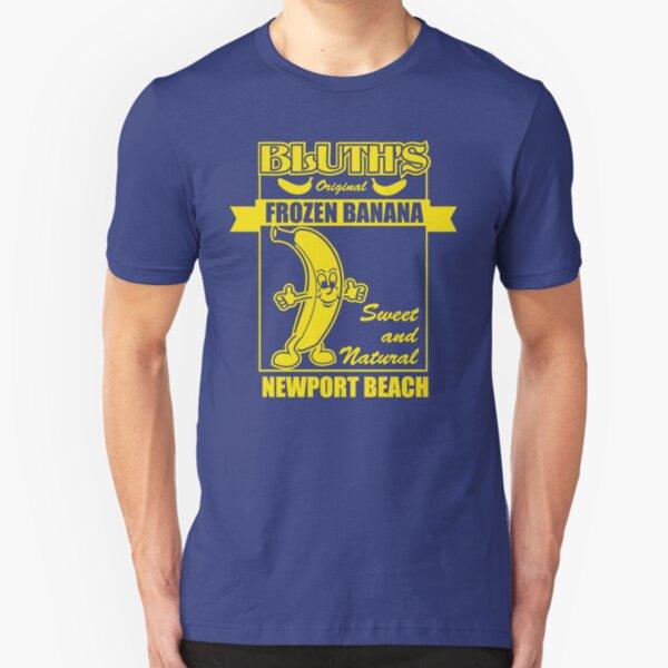 Bluth's Original Frozen Banana Slim Fit T-Shirt