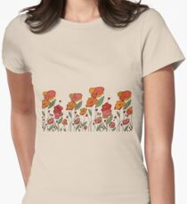 Mohnfeld Women's Fitted T-Shirt
