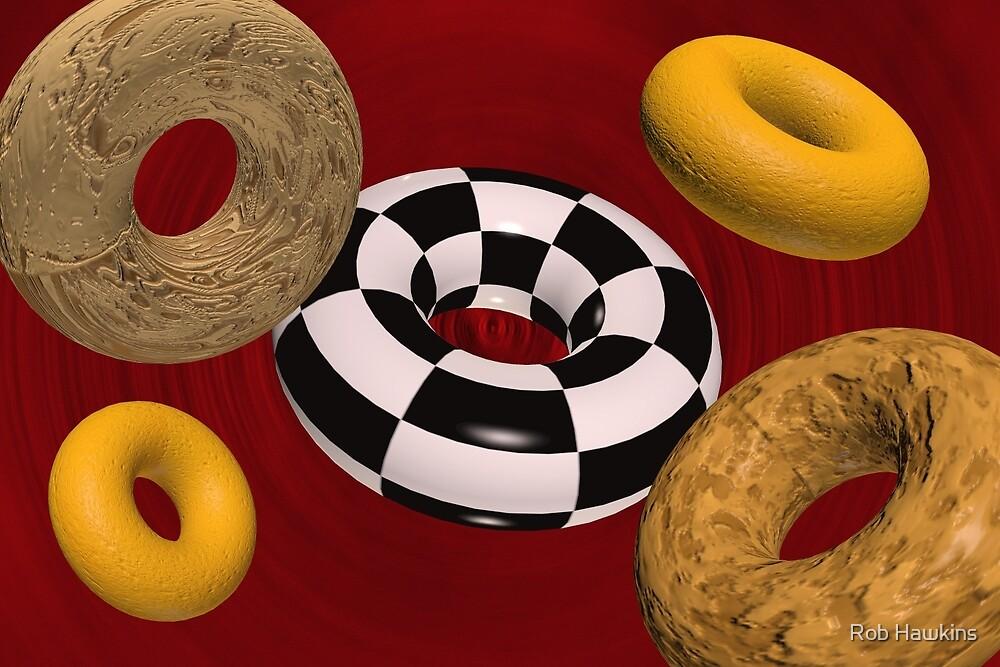 Digital Donuts  by Rob Hawkins