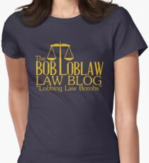 The Bob Loblaw Low Blog Women's Fitted T-Shirt
