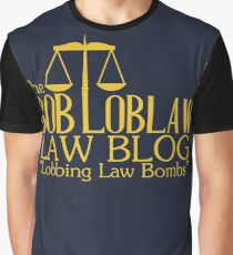 The Bob Loblaw Low Blog Graphic T-Shirt